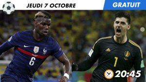 Pronostic France - Belgique