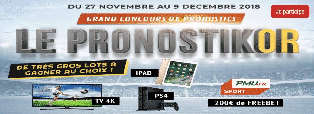 Concours Pronostikor