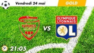 pronostic Nimes - Lyon
