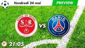 pronostic Reims - PSG