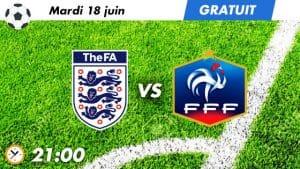 pronostic Angleterre U21 - France U21