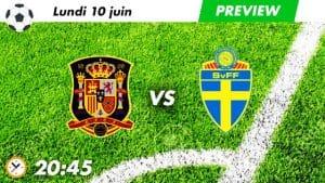 pronostic Espagne - Suède