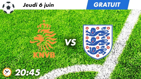 pronostic Pays Bas - Angleterre