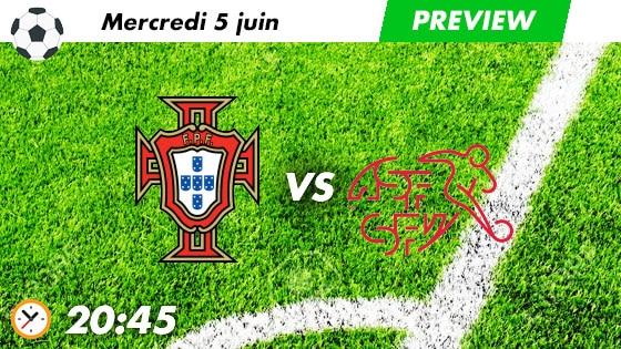 pronostic Portugal - Suisse
