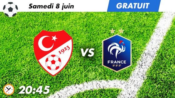pronostic Turquie - France