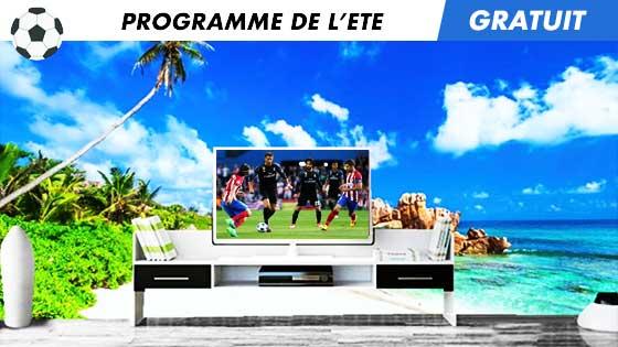 Programme de l'été sur MediaPronos