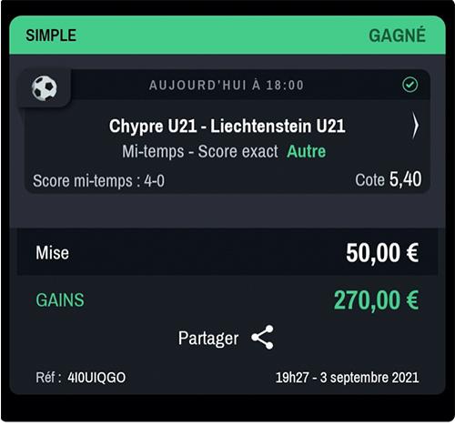 paris gagnant 18